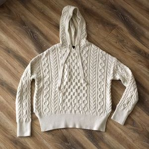 J Crew Cable-knit Hoodie Sweater from Summer 2020